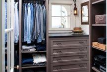Starage and closet ideas