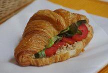 Le Lapin Croissants Sandwiches