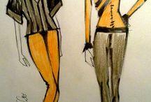 Black & Yellow y Gold v^v^v^v^ / Non so se sono veramente in sintonia con la strada, ma lo sono davvero con le stelle?  Jean Paul Gaultier
