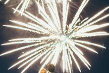 Wedding fireworks / Inspiration for your wedding fireworks
