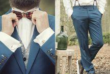 Bruidegom / Inspiratie voor de bruidegom. Styling, trouwpakken, schoenen, fotografie.