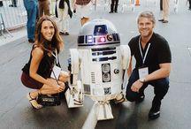 Steven Cox Instagram Photos Getting our #StarWars on.  #r2d2 #nerd #nerdalert  #ISpyMia