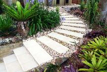 Gardens Paths Fountains / by Jen Boulter