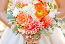Peach/Orange Bouquets