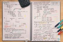 Organizando os estudos / Para ter um estudo produtivo nada melhor que um caderno organizado e bonito de se ver