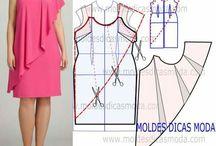 wykroje sukienek