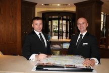 The Team / It is important that you know who is looking after you. Otherwise how would you know who to ask? We always care about our guests, so if you need anything, please ask!