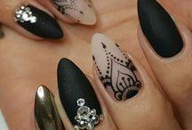 difficult nail art