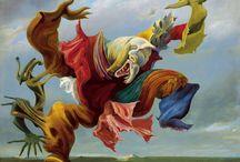 Surrealism - Σουρεαλισμός / Surrealism is an art movement formed during the interwar period and survives until today. Ο Σουρεαλισμός είναι ένα κίνημα που διαμορφώθηκε την περίοδο του Μεσοπολέμου και επιβιώνει μέχρι τις μέρες μας.