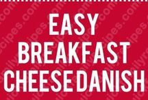 Breakfast Danishes