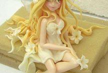clay princesses and fairies