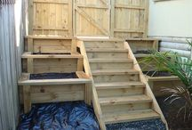 steps &planter boxes