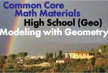 CCHS (Geo): Modeling with Geometry / Common Core High School (Geometry): Modeling with Geometry. Great teaching resources that help students apply geometric concepts in modeling situations.