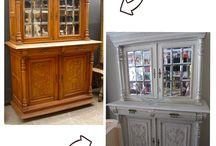Restorations / Furniture restorations and constructions
