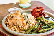 Chicken Dishes / Recipes that use chicken as the primary ingredient