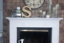 Mantel Decor / Home decor