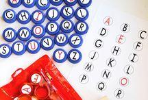 písmena, abeceda, psaní