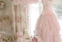 Brocante - shabby chic / Inspiratie en roze