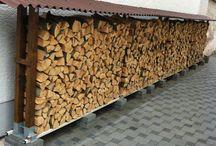 Holz lagern