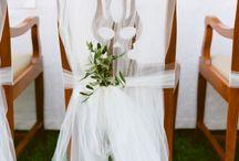 Heidis bryllup / Natur/hvit/villblomster og tre. Rustic hage bryllup