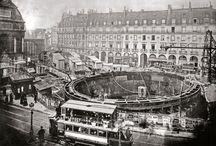 Paris-Construction du métro / L'origine du métro Parisien