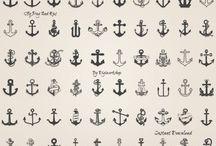 planche Ancre de bateau