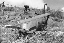 Vietnam Krieg mit Indochina Krieg / Helicopter war in Vietnam
