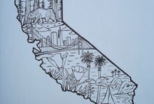 California Outline Map / California Outline - Maps - Show love for your home town with this car decal from SD Sticker.