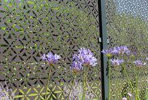 Contemporary garden panels & fencing