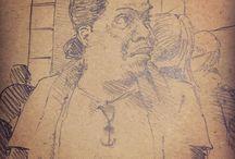 my work Swim mum #drawing #pencil #sketch #sketchbook #art