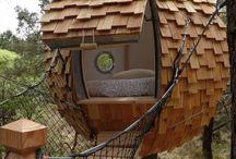 pavillon bois