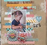 Scrapbooking layouts inspiration