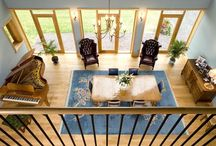 Venables Oak project: Dearnford Lake / Full bespoke joinery including stairs, floors, doors and windows