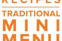 Traditional Mini Menu April 2015 / Flavor bursting favorites highlight the Traditional Mini April Menu. Beef Wellington made simple but still a show stopper. Lasagna roll ups with a white chicken twist and Savor Prosciutto Wrapped Chicken. / by Once A Month Meals