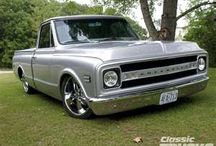 Chevy Trucks / by Shaun Fyfe