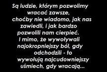 Wisdom of life ??? ======Mądrości, życiowe???