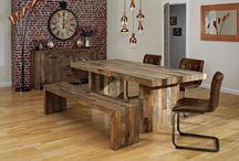 Posh dining / Set the scene for dinner parties with a stunning table that will perfectly showcase your culinary delights.