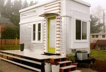 Små funksjonelle hus.
