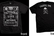Cartel Ink Tattoo Inspired Clothing for Guys and Gals, & Kids