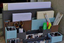 pudełka organizery