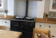 Wood Cottage Kitchen
