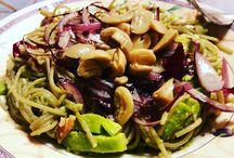 gluten free and veggie lunch
