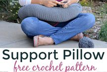 Support pillow for craft