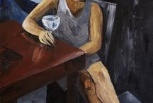 Lukas Kadlec paintings