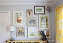 gallery wall / by Emily Bartha