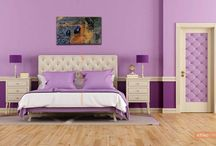 Colourful Bedrooms / https://renomania.com/blog/?s=Colourful+Bedrooms
