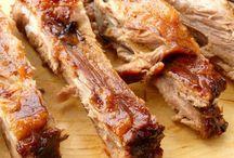 Carnes al horno o parrilla