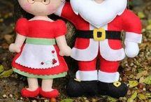 Manualidades navideñas de fieltro