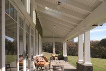 Modern verandah