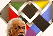Omar Rayo / Periodista Ómar Rayo Reyes fue un reconocido y famoso pintor colombiano. Inició su carrera artística como caricaturista en 1949, en la avenida Siloé dibujando e ilustrando para los periódicos y revistas de Cali y Bogotá.  Fecha de nacimiento: 20 de enero de 1928, Roldanillo, Colombia Fecha de la muerte: 7 de junio de 2010, Palmira, Colombia Premios: Beca Guggenheim en Artes, América Latina y Caribe